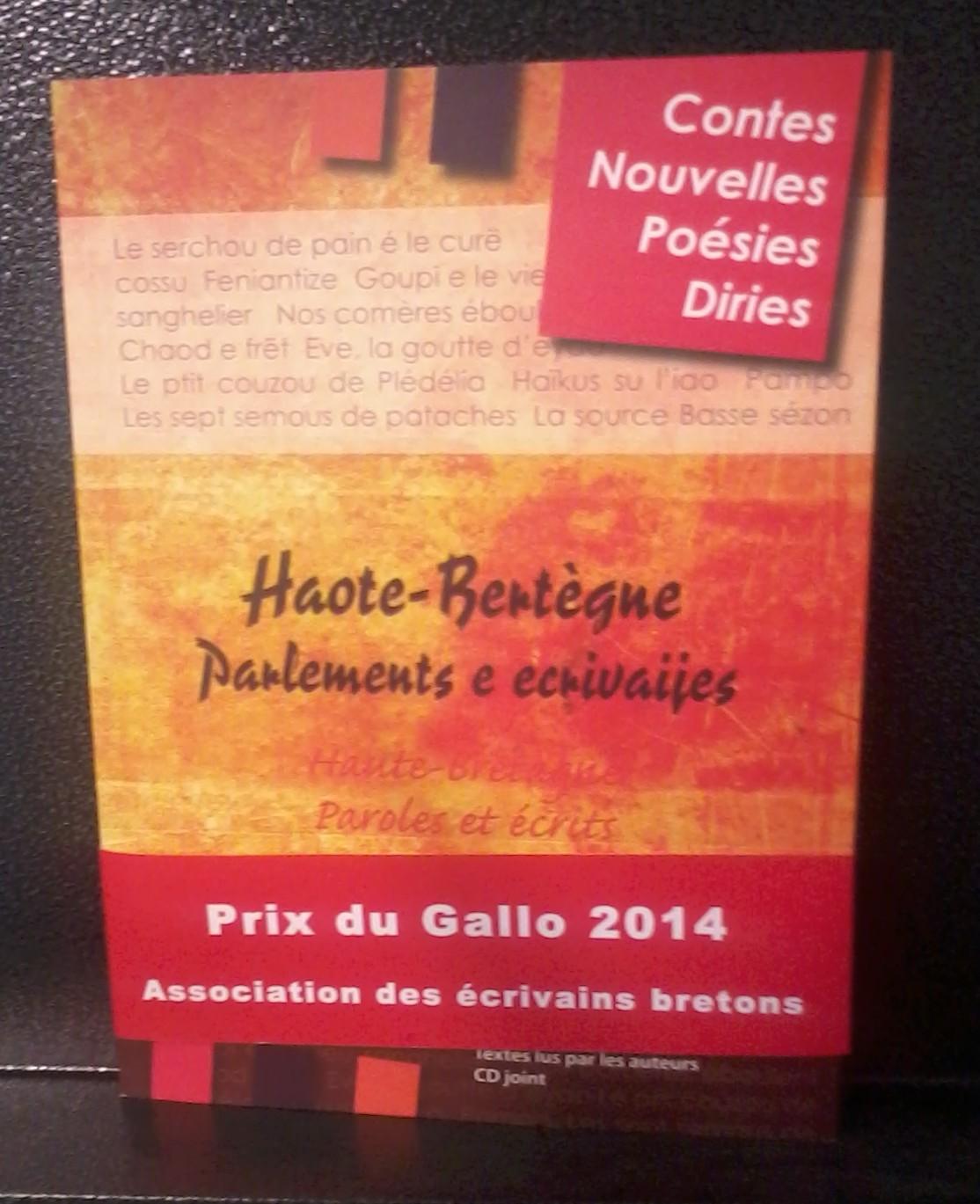 livre Haot Bertègne